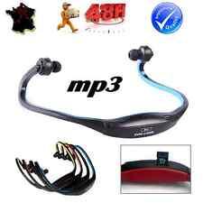 Casque MP3 Sans Fil Ecouteur Musique Sport Rechargeable Lecteur Carte Micro SD