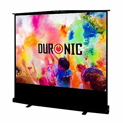 Duronic FPS80 /43 Ecran de projection autoportatif 80'' 4:3 / 163 x 122 cm