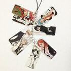 Anime Bleach Phone Plastic Chain Pendant Keychain Kids Gift Cellphone Accessory