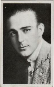 Wallace Reid, 1910's Kromo Gravure Movie Star Card, vintage non ...