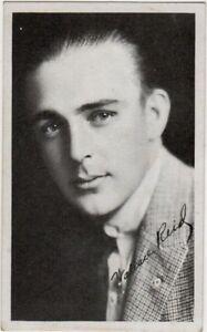 Wallace Reid, 1910's Kromo Gravure Movie Star Card, vintage non ...