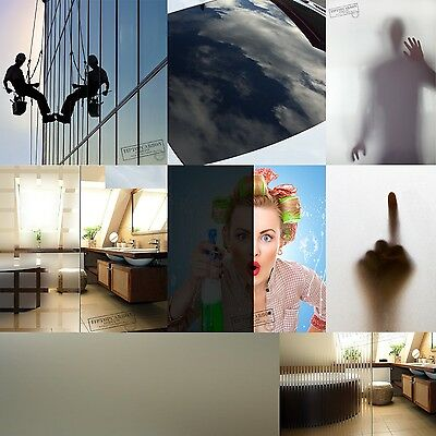 7,89€/m² Premium Spiegelfolie Milchglas Folie Sichtschutz Folien Selbstklebend