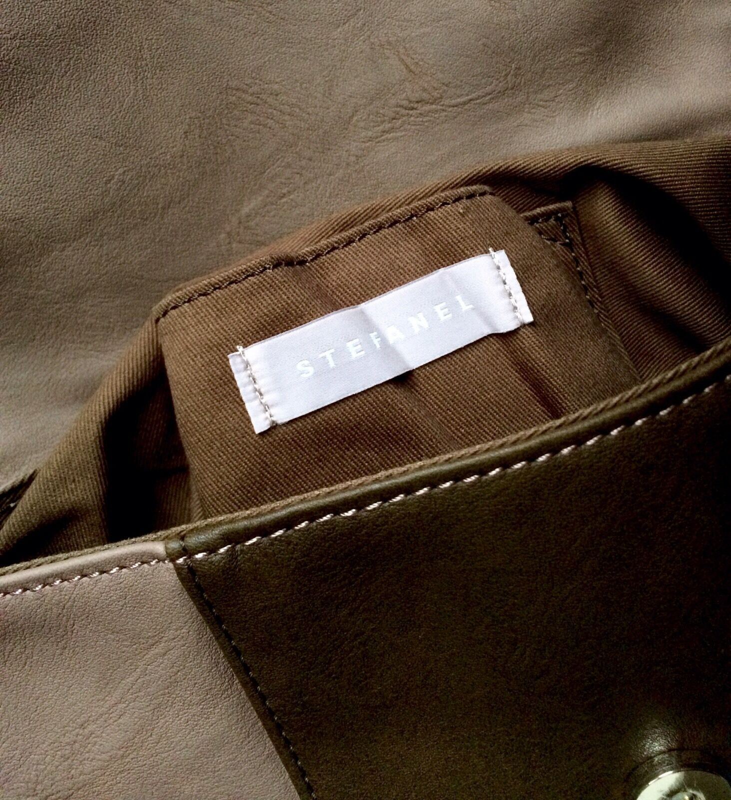 STEFANEL Crossbody-Bag NEU Tasche Khaki Taupe   Preiszugeständnisse  Preiszugeständnisse  Preiszugeständnisse    Hochwertige Produkte    Ästhetisches Aussehen  10d0cf