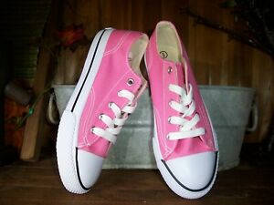 airwalk girls casual athletic shoes size 3 color pink lace