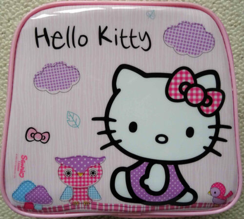 Official Authentic Sanrio Hello Kitty Woodland Animals Pink Lunch Bag by Zac UK