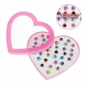 TOYMYTOY 36pcs Children Toys Rings Jewelry Cute Creative Rings for Little Kids