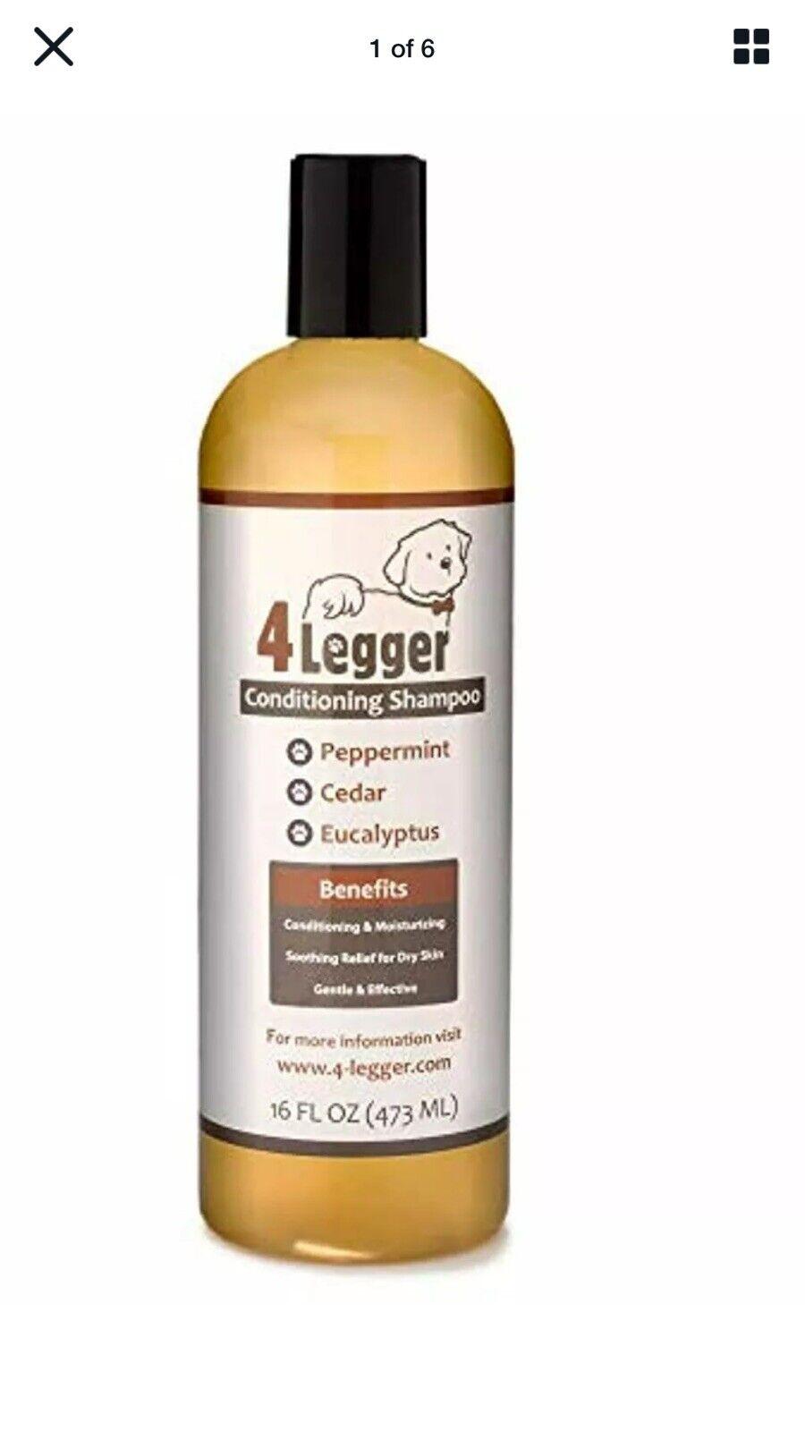 4-Legger Certified Organic Oatmeal Dog Shampoo with Aloe and Lavender 7/23