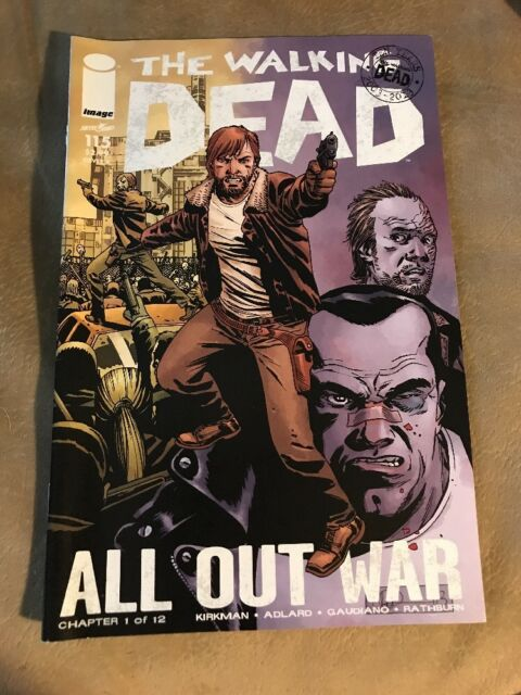 The Walking Dead #115 Cover A (October 2013, Image) All Out War Pt. 1!
