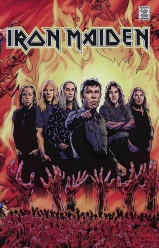 Iron Maiden #1 Comic Rock /& Roll Biographies #5 2015