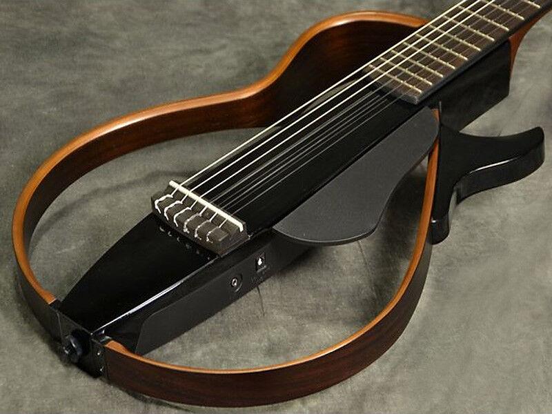 Yamaha Yamaha Yamaha Silencioso Acústica Guitarra Clásica SLG200N Tbl Natural Nailon Cuerdas F 497b0a