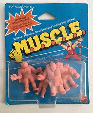 1986 MATTEL M.U.S.C.L.E. MUSCLE MEN SEALED 4 IN PACK.