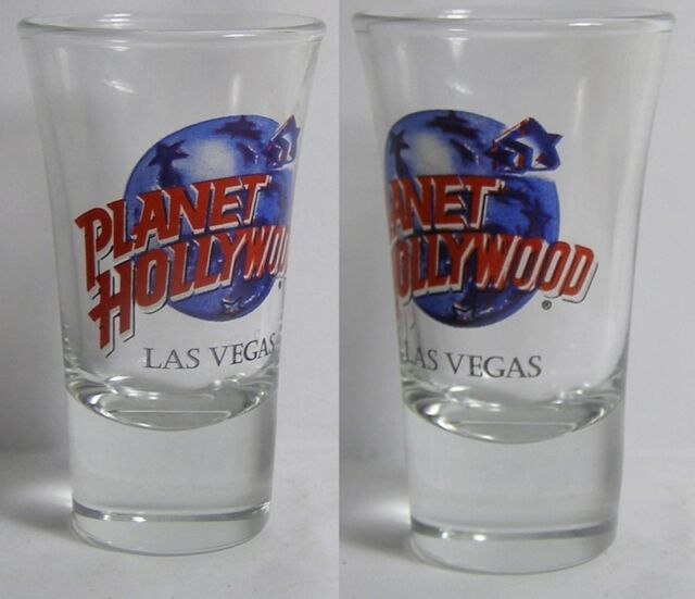 Planet Hollywood Las Vegas Shot Glass #3675