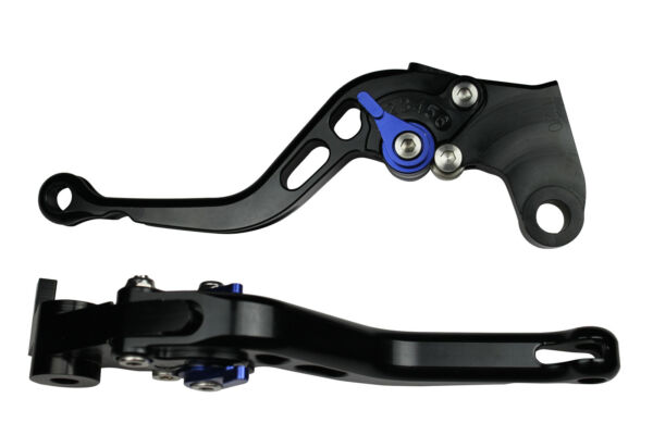Creatief Short Motorcycle Brake Clutch Levers For Triumph Speed Triple 2008-2010 Blue