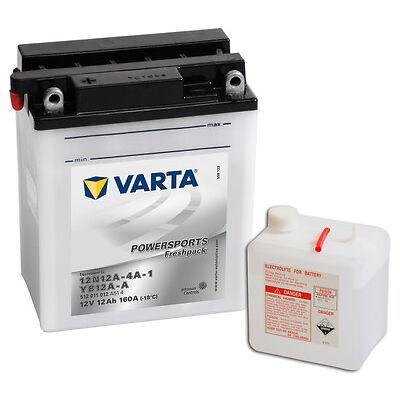 VARTA Rollerbatterie 12V 12 Ah 512011012 12Ah 12N12A-4A-1 YB12A-A NEU
