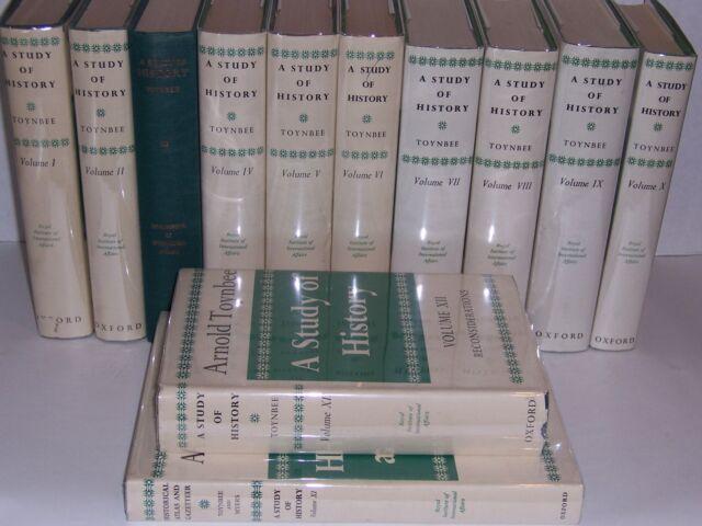 Oxford University Press STUDY OF HISTORY Arnold Toynbee 12 vols