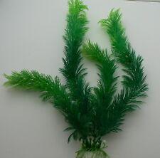 Künstliche Wasserpflanze Aquarium Plastik 30 cm 4 Triebe breit und buschig