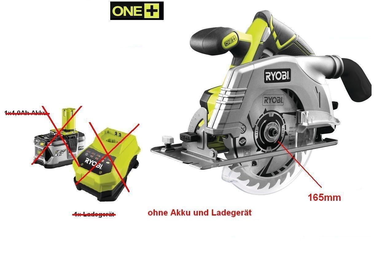 Ryobi 18 V Akku-Handkreissäge R18CS-0Nachfolgemodel RWSL 1801M ohne Akku  Ladege