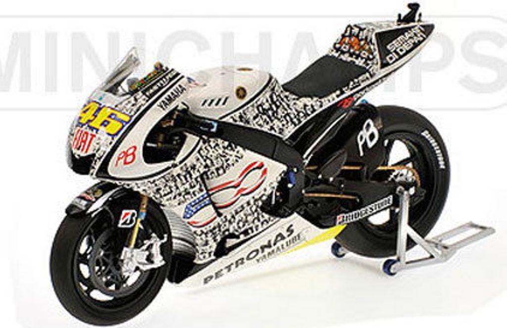MINICHAMPS 103246 YAMAHA YZR M1 V Rossi 500 500 500 visages Laguna Seca Motogp 2010 1:12th | Porter-résistance  | Matériaux De Haute Qualité  | En Ligne  0a7e14