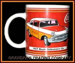 Coca  Route Salesman S Car Coffee Mug