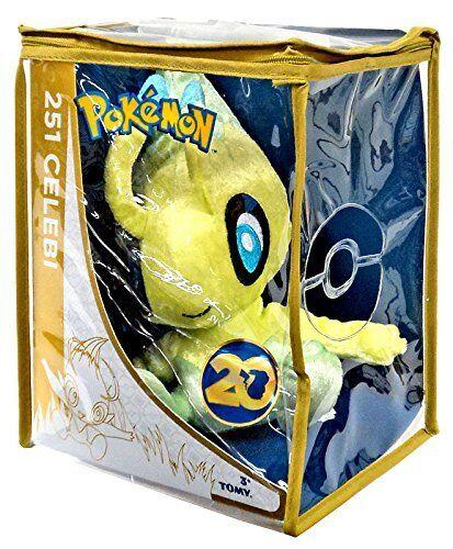 Pokemon 8-Inch 20th Anniversary Edizione Speciale Celebi Peluche T18720