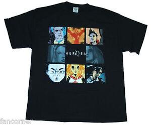 HEROES-T-shirt-Officiel-Tableaux-d-039-Isaac-Mendez-Heroes-tee-shirt