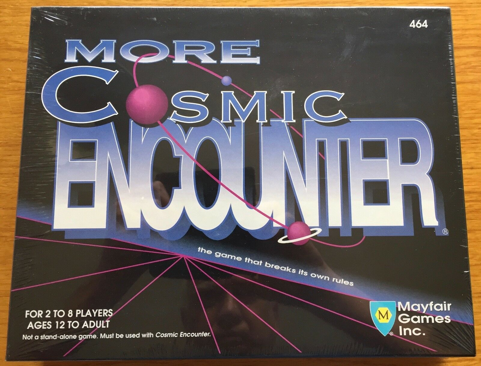 More Cosmic Encounter - Mayfair Games 1992 - Blisterato sealed Shrinkwrapped