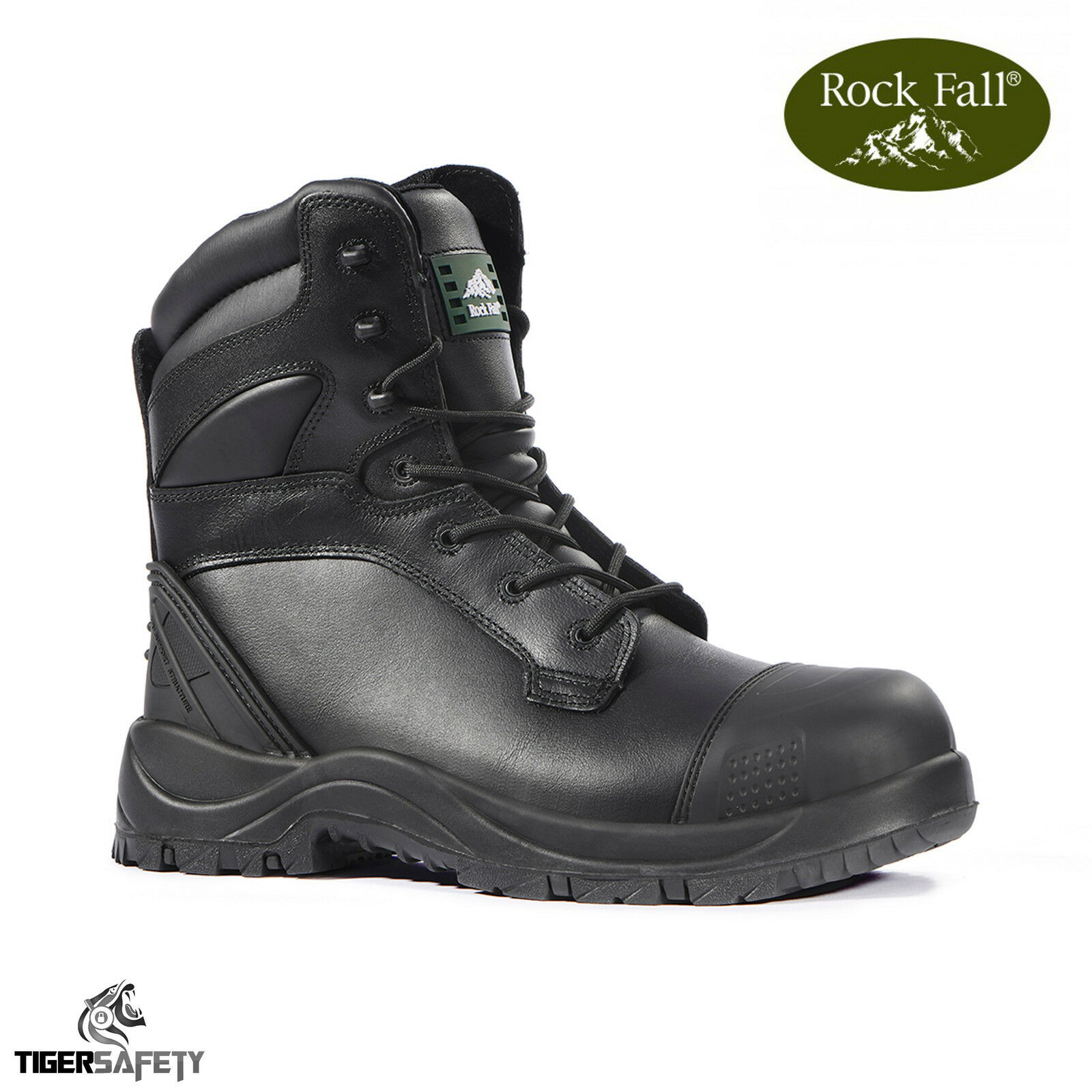 Rock Fall RF470 Clay RF470 Fall S3 SRC Waterproof Wide Fit 100% Non Metallic Safety Boots 1c6a14