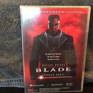 Blade-DVD-Wesley-Snipes-Vampire-Movie-R4-Aus-Action