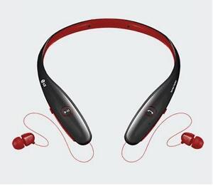 Headphone wireless bluetooth lg - bluetooth headphones lg red/black