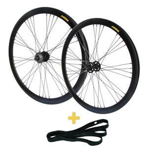 Laufradsatz-Vorderrad-o-Hinterrad-Singlespeed-Fixie-28-034-700C-SCHW-MATT-STERN