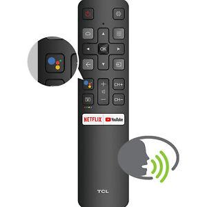 Funzione vocale del telecomando Android TCL RC802V con tasti Netflix e YouTube