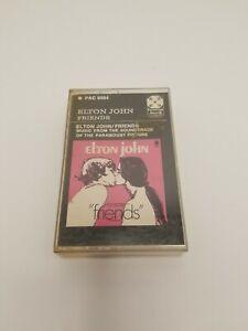 ELTON JOHN FRIENDS ORIGINAL SOUNDTRACK PAPER LABEL CASSETTE MEGA RARE - UNTESTED