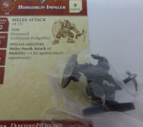 D/&D Miniatures Dungeons /& Dragons 35 Hobgoblin Impaler C23 ; LE9 Promo