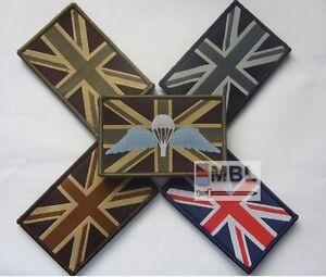TRF-DZ-UNION-JACK-FLAGS-RWB-MONO-DESERT-MTP-PARA-WINGS-VELCRO-BACKED-SAS-SBS-ACF