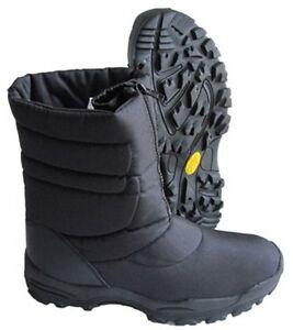 de Botas con forro acolchado imitación para negras de Cerrar piel invierno nieve caliente la dRrqRa
