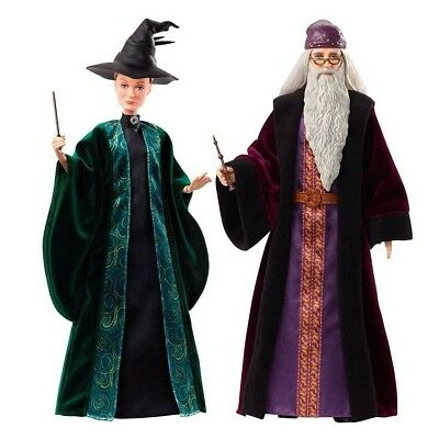 Harry Potter Doll Professor Dumbledore and Minerva McGonagall FYM54