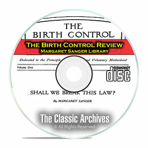 Details about The Birth Control Review, Margaret Sanger Library, 243 Issues  + Books PDF CD E50