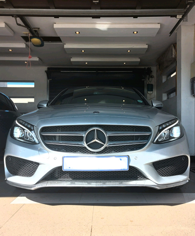 2017 Mercedes-Benz C180 AMG 7G-Tronic Plus with 30 000 kms