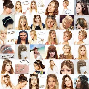 Fashion-Women-Metal-Rhinestone-Head-Chain-Jewelry-Headband-Head-Piece-Hair-band