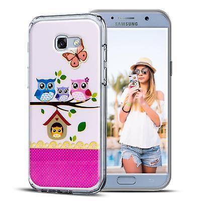 Handyhülle für Samsung Galaxy Hülle Schutz Case Silikon TPU Cover Motiv Tasche