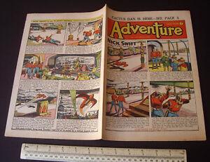 Nick Swift of the Planet Patrol. Space Adventure Comic Vintage 1953 #1472