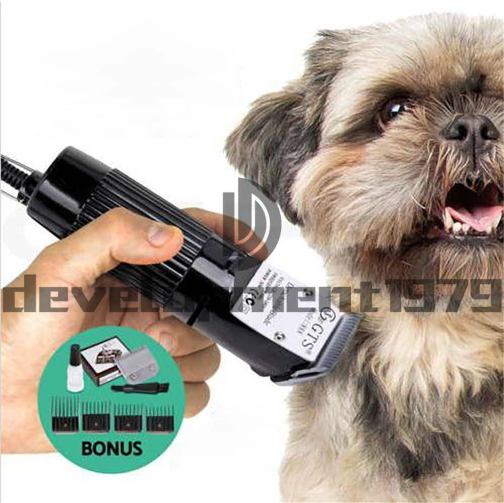 GTS-888 Professional Dog Dog Dog Trimmer Clipper Kit For Cat Animals Pet Hair Grooming 037dcb