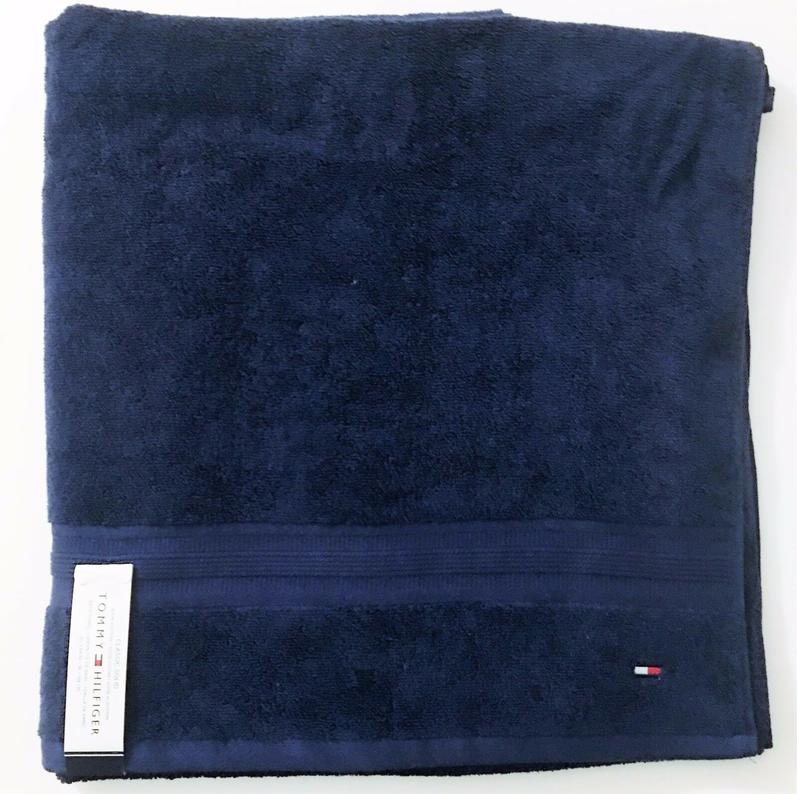 42.00 100/% Cotton Tommy Hilfiger Beach Towel 35X66 New Flag Lobster Was