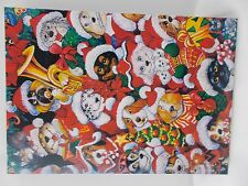 Christmas cards dogs Santa outfit different breeds dog show card lot of 5