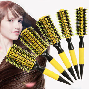 Pro-Peigne-Ronde-Brushing-Brosse-a-Cheveux-Boucle-Coiffure-Antistatique