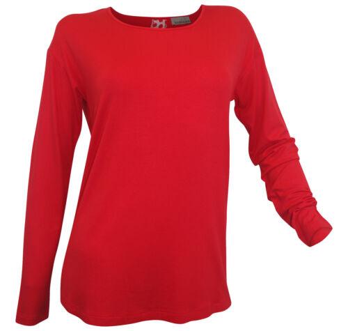 Mandarin Chemise manches longues T 46 Jersey Shirt Zipper Mousseline utilisation Points