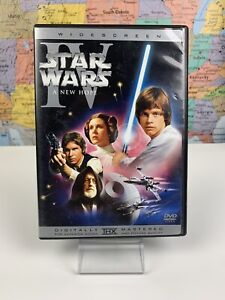 Ships Same Day Star Wars Episode Iv A New Hope Widescreen Edition Disc Dvd 2004 Ebay