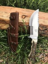 KUZACH Knives LLC 440c Steel Tracker  Knife Survival Bushcraft Tool