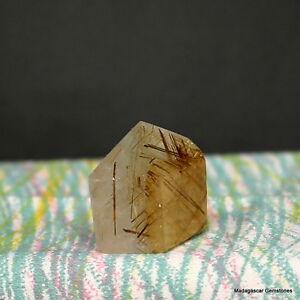 "1.15"" Rutile Included Clear Rutilated Quartz Crystal Point Reiki , Rtq54"