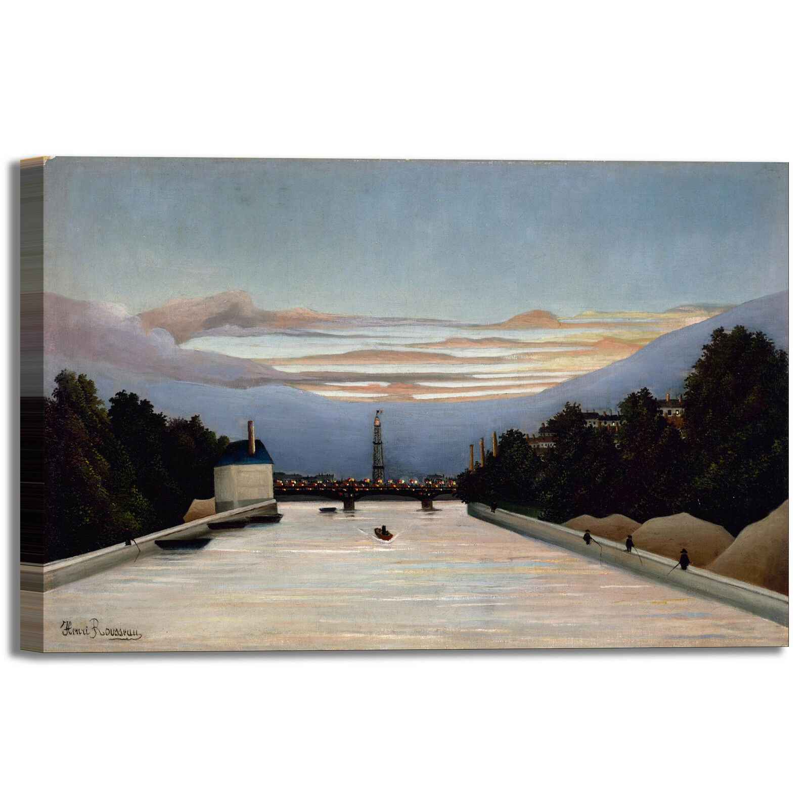Rousseau Tour Eiffel arRouge design quadro stampa tela dipinto telaio arRouge Eiffel o casa 747ce5